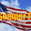 Always Faithful - Semper fi. — Stock Photo