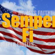Always Faithful - Semper fi. — Stock Photo #18546203