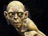 Gollum from the Lord of the rings — Stock Photo
