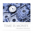 Stock Photo: Time and Money Concept Image