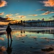 Oceanside Pier at sunset — Stock Photo #20185429