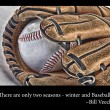Baseball glove and ball — Foto de Stock