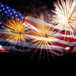 Happy 4th of July Ameican flag — Stock Photo #28791175