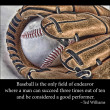 Stock Photo: Baseball glove and ball