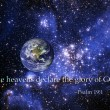 Stock Photo: Heavens declare glory of God