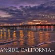 Oceanside Pier at sunset — Stock Photo #29932011