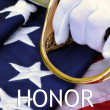 Stock Photo: AmericMarine Honor