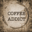 Coffee Addict — Foto de Stock