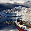 Reflective Convict Lake — Stock Photo