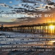 Stock Photo: Sunset at Oceanside Pier