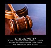 Wooden Judges Gavel — Stock Photo