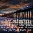 Stock Photo: Oceanside Pier Californiwith quote