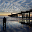 Oceanside Pier with photographer — Stock Photo #41912319