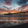 Stock Photo: Oceanside Pier Californiat sunset