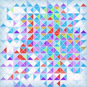 明るい抽象的な幾何学的なモザイクの背景。eps10 — ストックベクタ