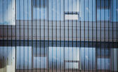 Details of facade on contemporary building — Stock Photo