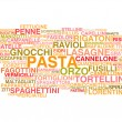 Stock Vector: Types of Italipasta