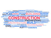 Building construction and civil engineering — Stock Vector