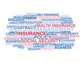 Insurance. Word cloud — Stock Vector