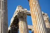 Columns of greek temple — Stock Photo