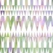 Stock Vector: Colorful triangular pastel pattern