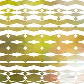 Patrón floral de colores triangular — Vector de stock