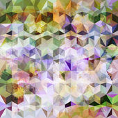 Colorful abstract geometric pattern — Stock vektor
