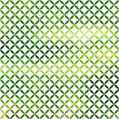 Soft green defocused background — Stock Vector