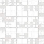 Bezešvé bílé obdélníkové origami vzor — Stock vektor