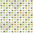 Seamless pattern with hearts — Stock Vector #14728099
