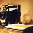 Antique camera — Stock Photo #34817623