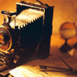 Antique camera — Stock Photo #34817629