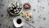 Rollos de sushi — Foto de Stock