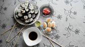 Sushi, rollen — Stockfoto