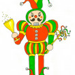 Nutcracker Jester — Stock Photo