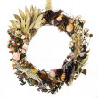 Field, Forest and Ocean Harvest Wreath — Stock Photo #14598987