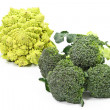 Stock Photo: Broccoli Varieties