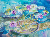 Monet's Water Lily Pond — Stock Photo