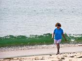 Cape cod surf walker — Foto Stock