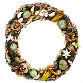 Rustic Wreath — Stock Photo
