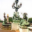 Cherubs and Sea Sprites on the Pont Alexandre Bridge — Stock Photo