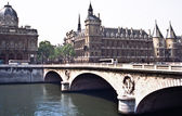 Bridge on the Seine River — Stock Photo