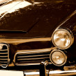 Vintage italian car — Stock Photo