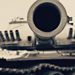 Stock Photo: War tank