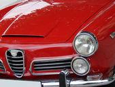 Auto italiana rossa — Foto Stock