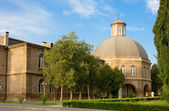 VAGHARSHAPAT, ARMENIA-JUNE, 24, 2012:Theological Academy of St. Echmiadzin.It`s part of monastery complex. — Stock Photo