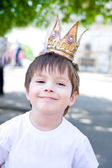 Little king — Stock Photo
