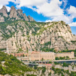 Montserrat Monastery, Catalonia, Spain. — Stock Photo