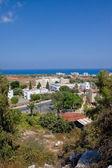 View of Protaras, Famagusta District, Cyprus. Protaras - popular resort on the east coast of island — Stock Photo