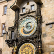 Astronomical clock, Old Town Square, Prague, Czech Republi — Стоковая фотография